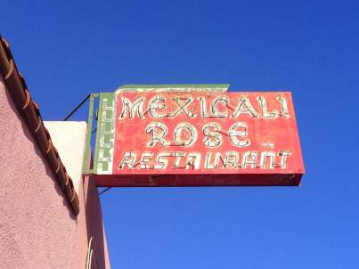 mexicali rose sign