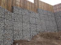 Gabion Retaining Wall: Swanvale, Falmouth - Devoran Garden ...