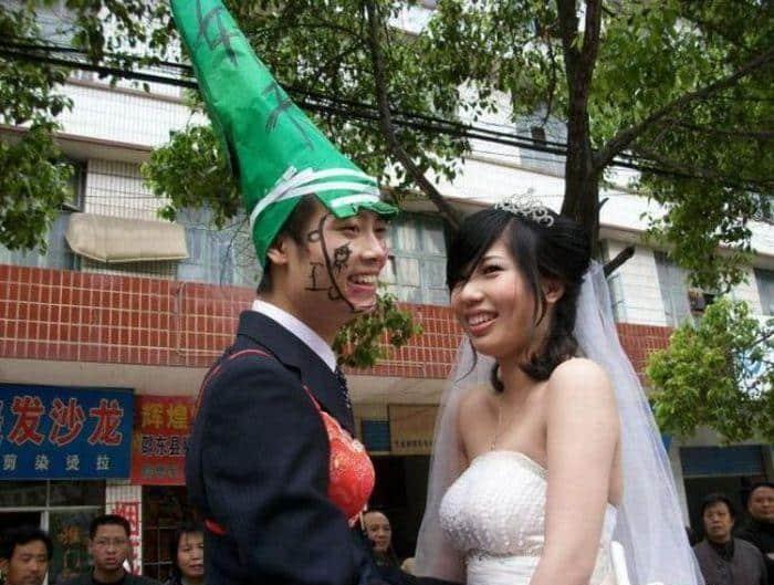 nunta in china