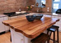 Natural Edges (Wane edges) on Custom Wood Countertops and ...