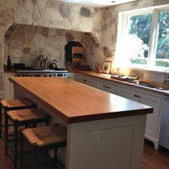 Wood Top Kitchen Island Best Range Pecan Countertop Photo Gallery, By Devos Custom ...