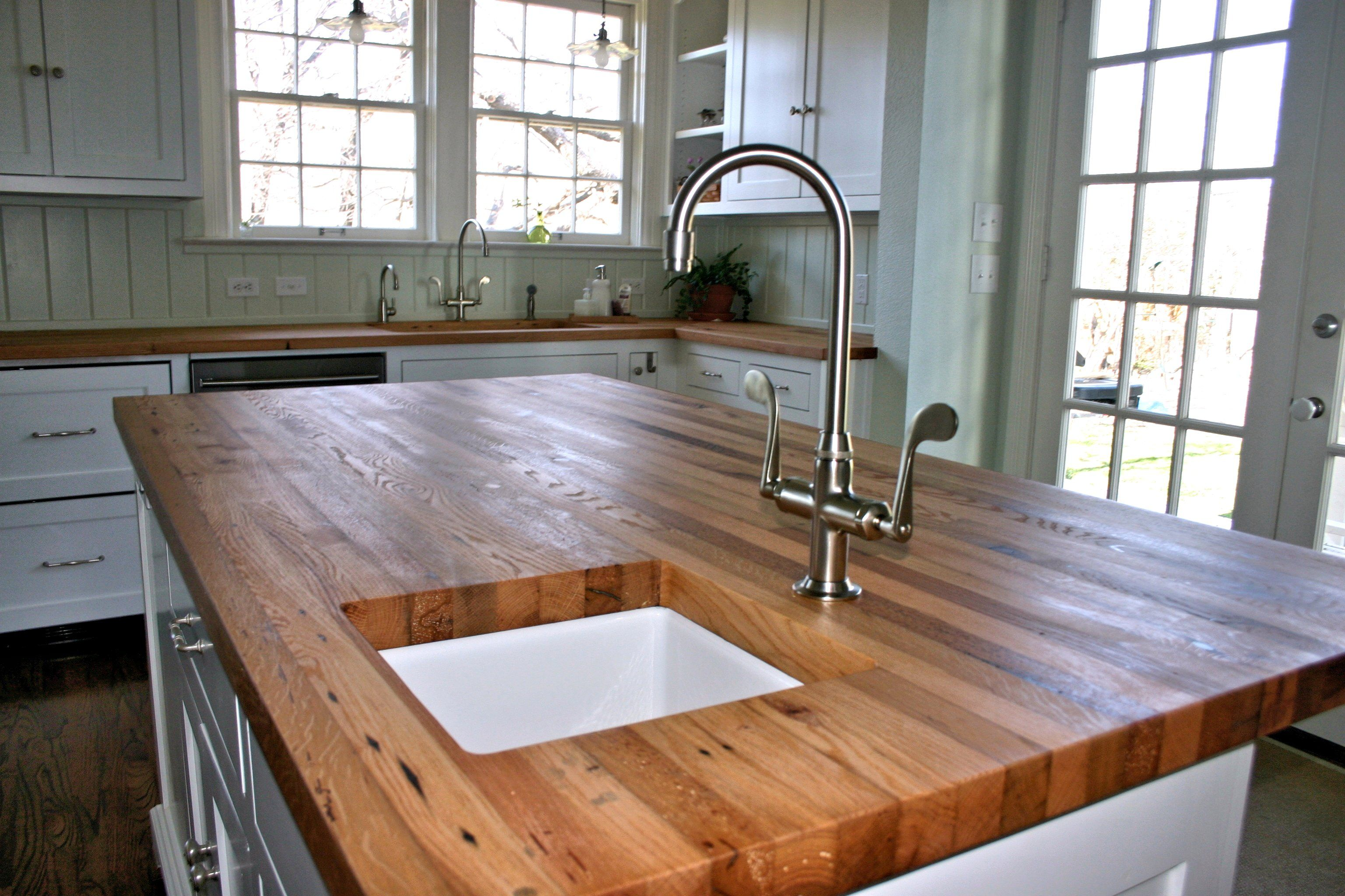 Reclaimed Wood Countertops reclaimed wood countertop - mtopsys