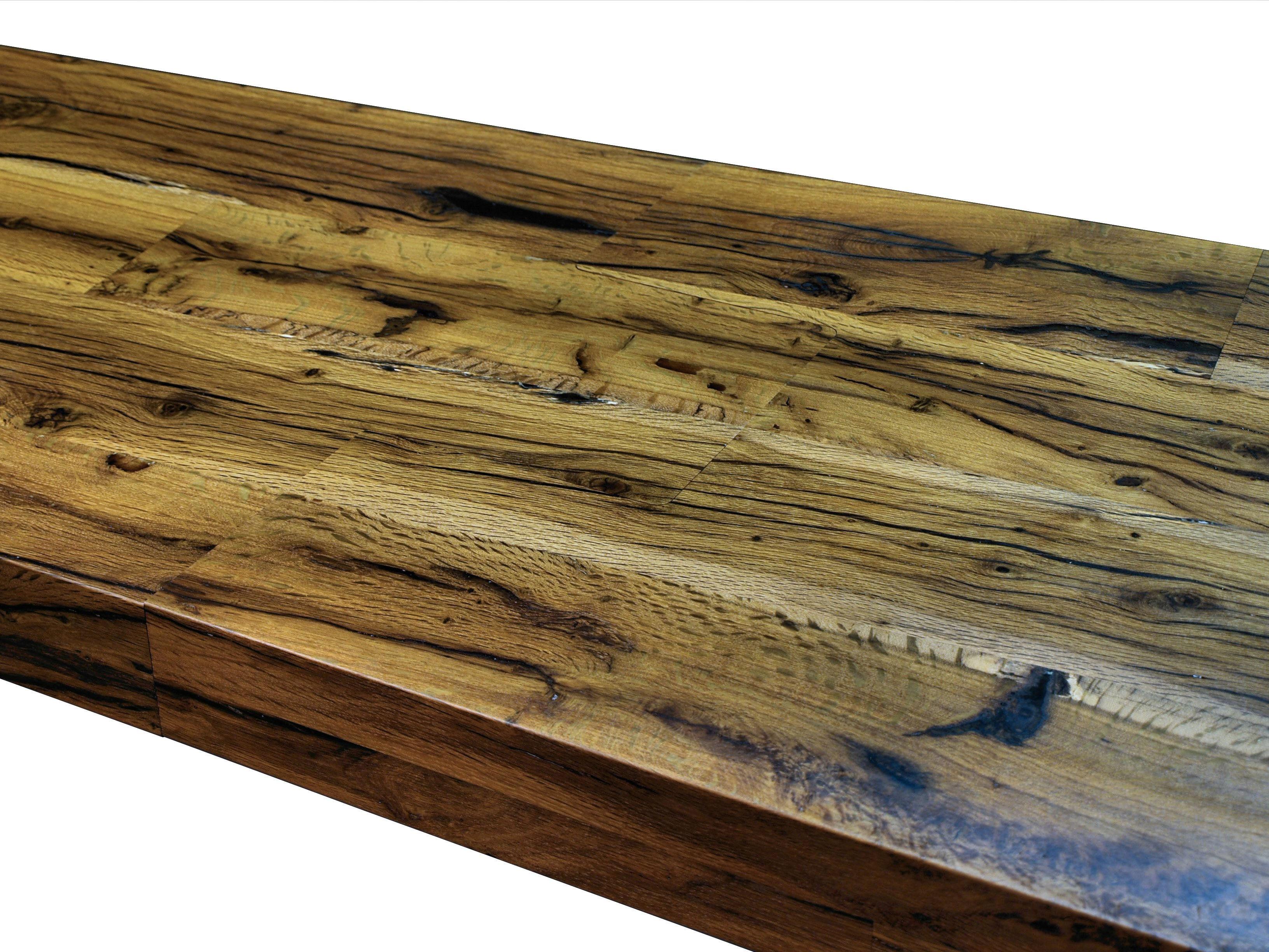 Reclaimed White Oak Wood Countertop Photo Gallery by DeVos Custom Woodworking