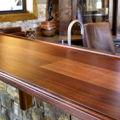 Kitchen Island Carts Farmhouse Faucets Slab Walnut Wood Countertop Photo Gallery, By Devos Custom ...