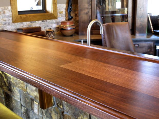 Wooden Bar Tops - Home Design Ideas
