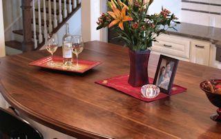 Custom Wood Countertop Options Finishes