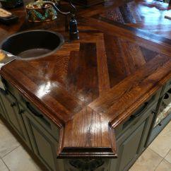 Kitchen Island Butcher Block European Gadgets White Oak Wood Countertop Photo Gallery, By Devos Custom ...