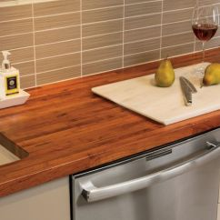 Wood Countertops Kitchen Decorative Accessories Custom Island Tops Butcher Blocks And Mesquite Countertop With Undermount Sink