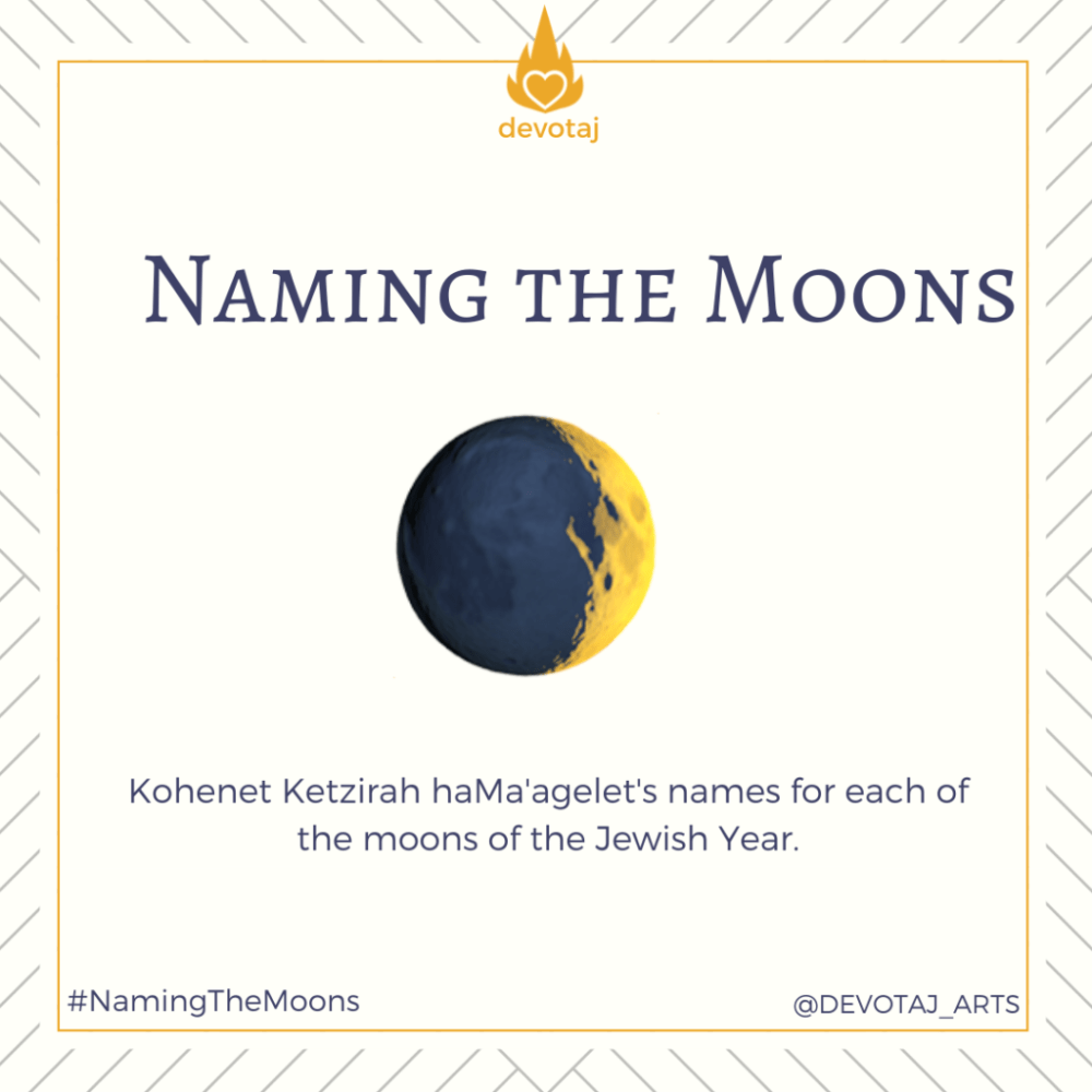 Naming the Moons