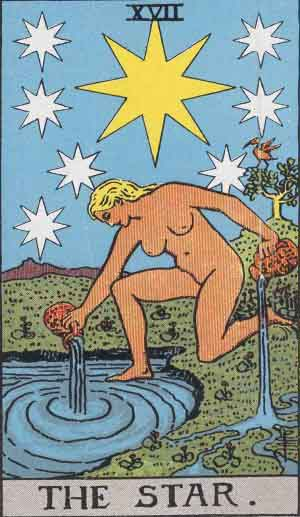 Smith Waite Tarot: Star