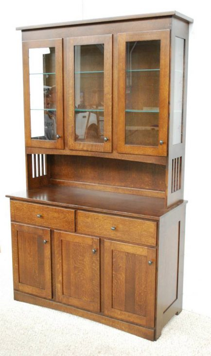 Mission China Cabinet  De Vries Woodcrafters