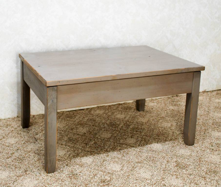 HiLow Coffee Table  De Vries Woodcrafters
