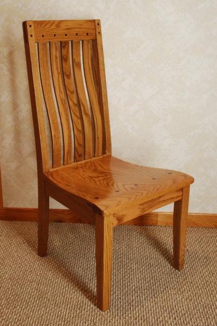 oak mission sofa table armrest drink holder iowa state fair 2015 - de vries woodcrafters
