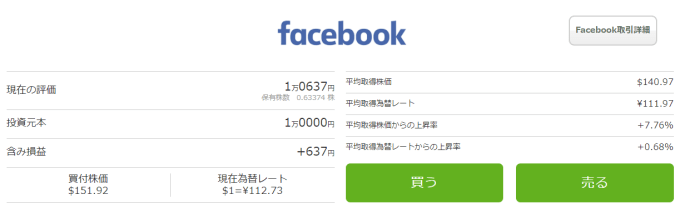 One Tap BUY【2017年6月】facebook