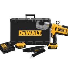 dce300m2 20v max died cable crimping tool kit [ 3000 x 3000 Pixel ]