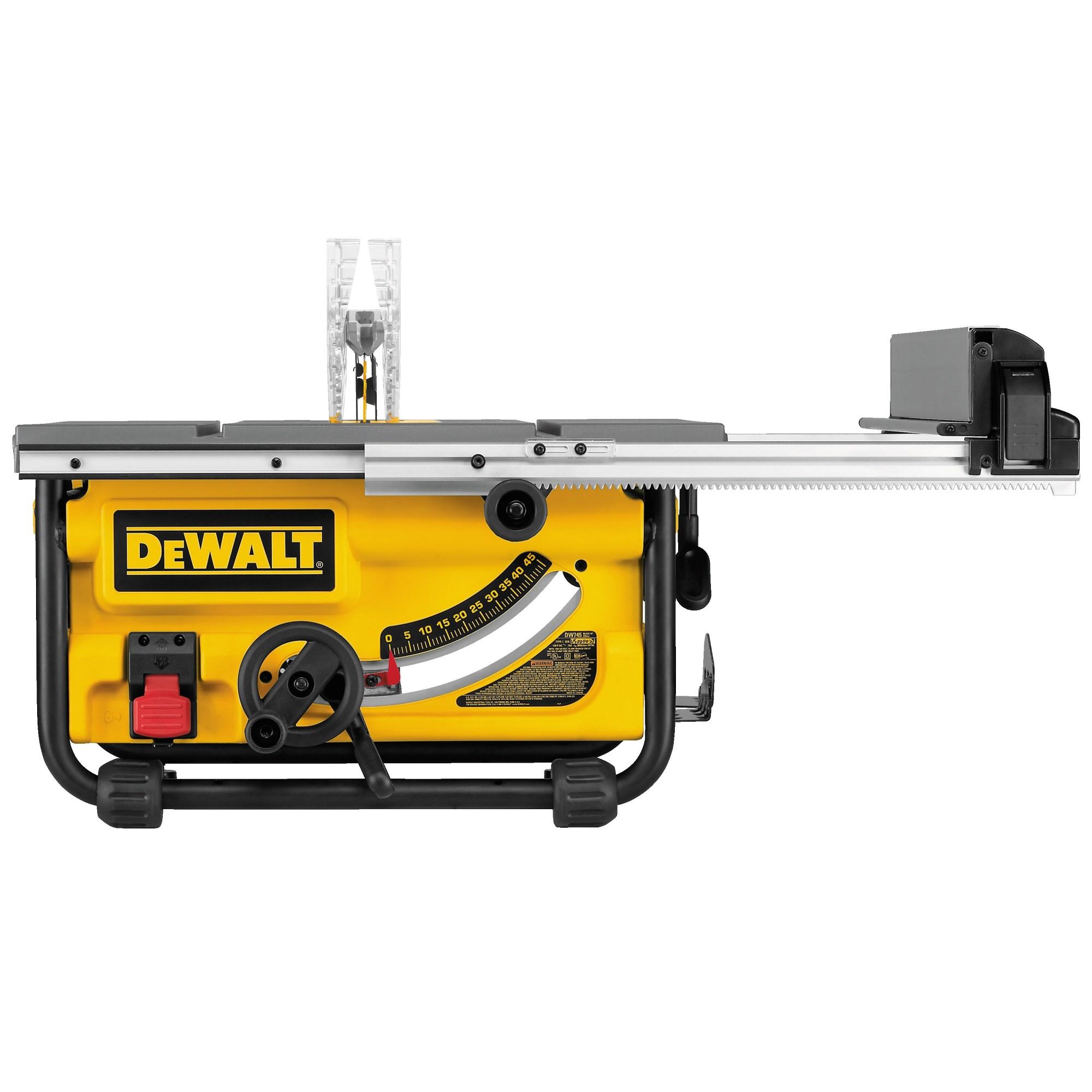 hight resolution of 10 compact job site table saw dw745 dewalt de walt table saw besides wiring 240v outlet further cordless de walt