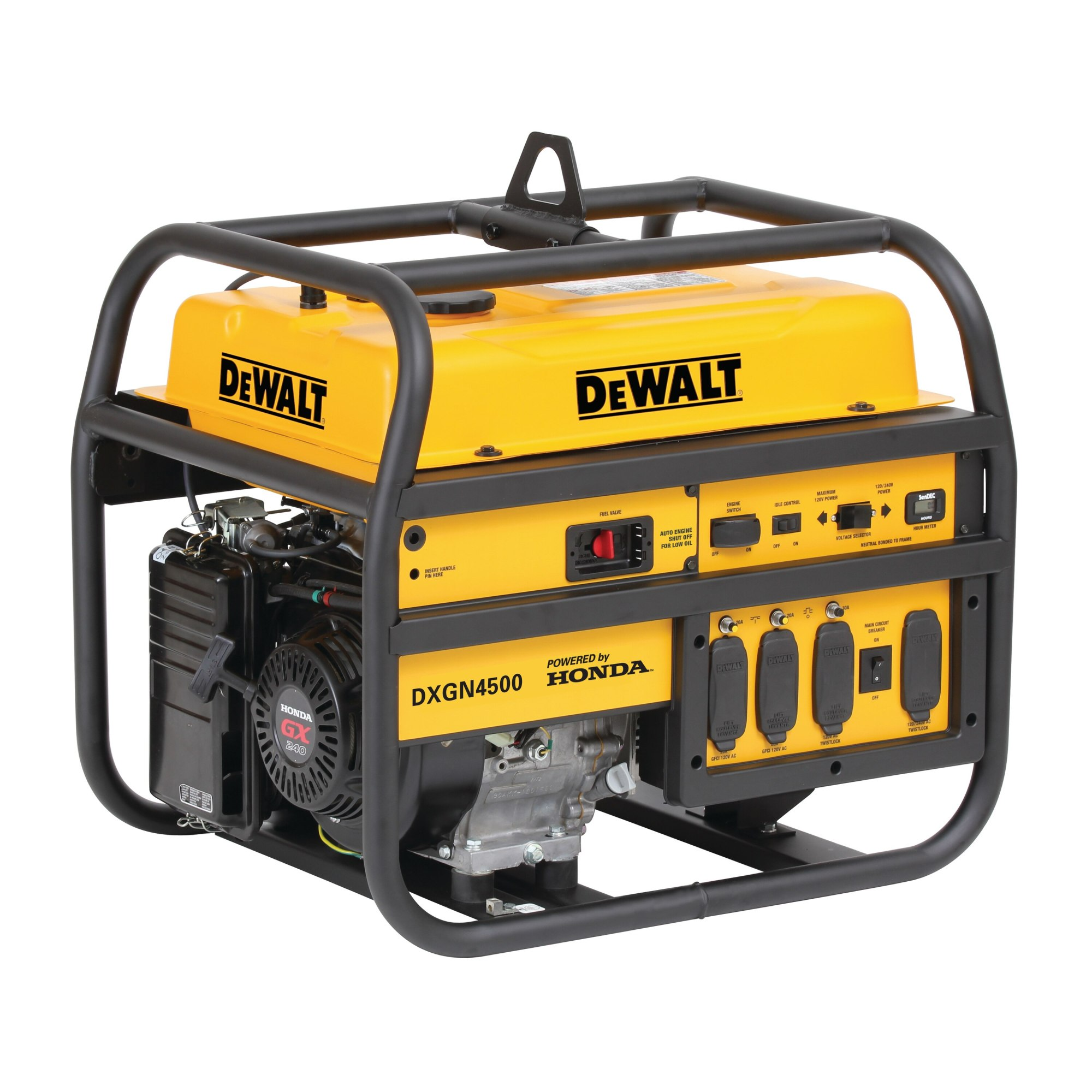 hight resolution of 4500 watt commercial generator dxgn4500 dewalt dewalt generator wiring diagram