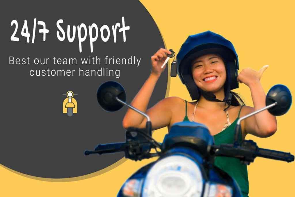 Support motor bali rental - Sewa Motor Bali