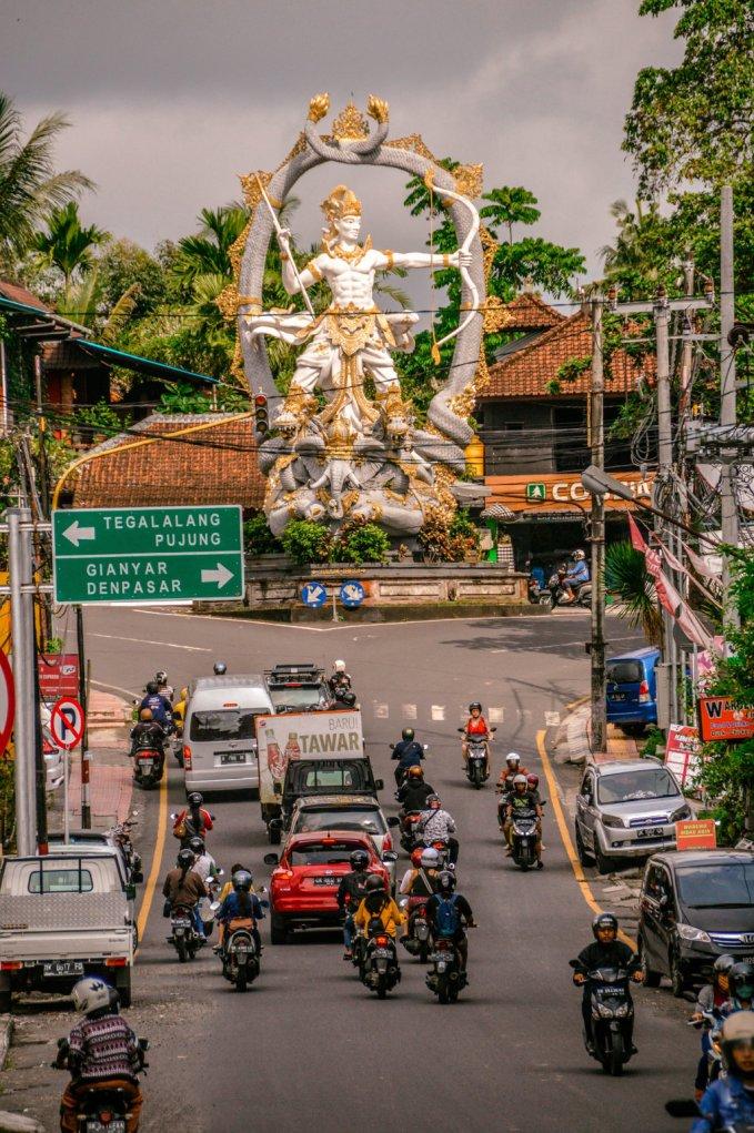 Ubud Road - Sewa Motor Murah Ubud Dan Tempat Jasa Rental Scooter Di Ubud