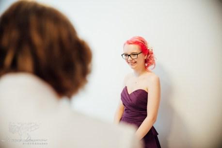 bridesmaid looks on