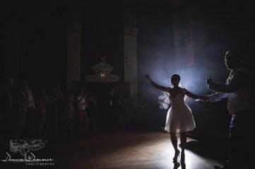Wedding couple invite everyone onto the dancefloor