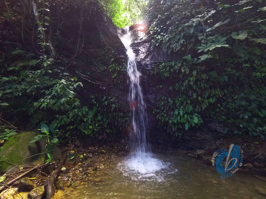 Cyril Bay Waterfall