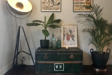 Kist plant spuitflessen posters