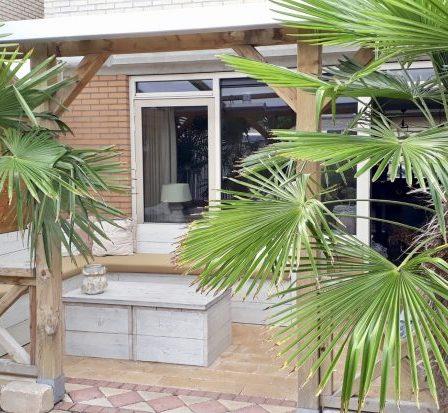 Overkapping veranda landelijke stijl