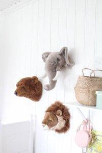 Dierenkop pluche olifant bol.com