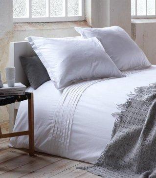 Hotel Suite Monaco - Dekbedovertrek - Tweepersoons - 200x200/220 cm - White bol.com