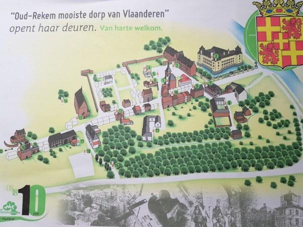 Plattegrond Oud-Rekem