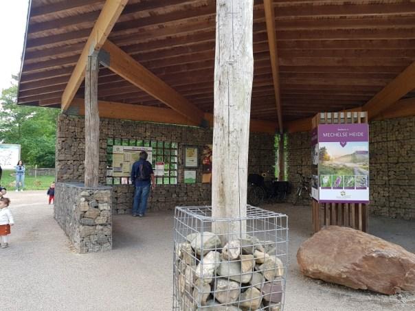 Toegangspoort Nationaal Park Hoge Kempen