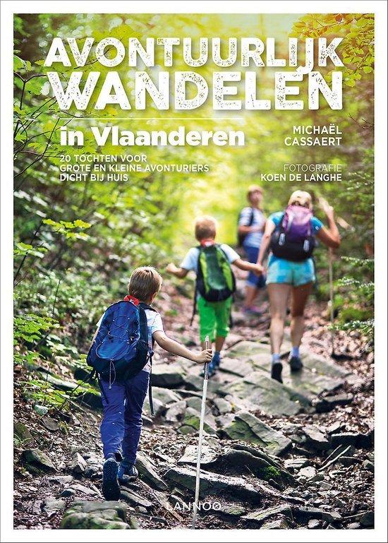 Avontuurlijk Wandelen - cover - Lannoo