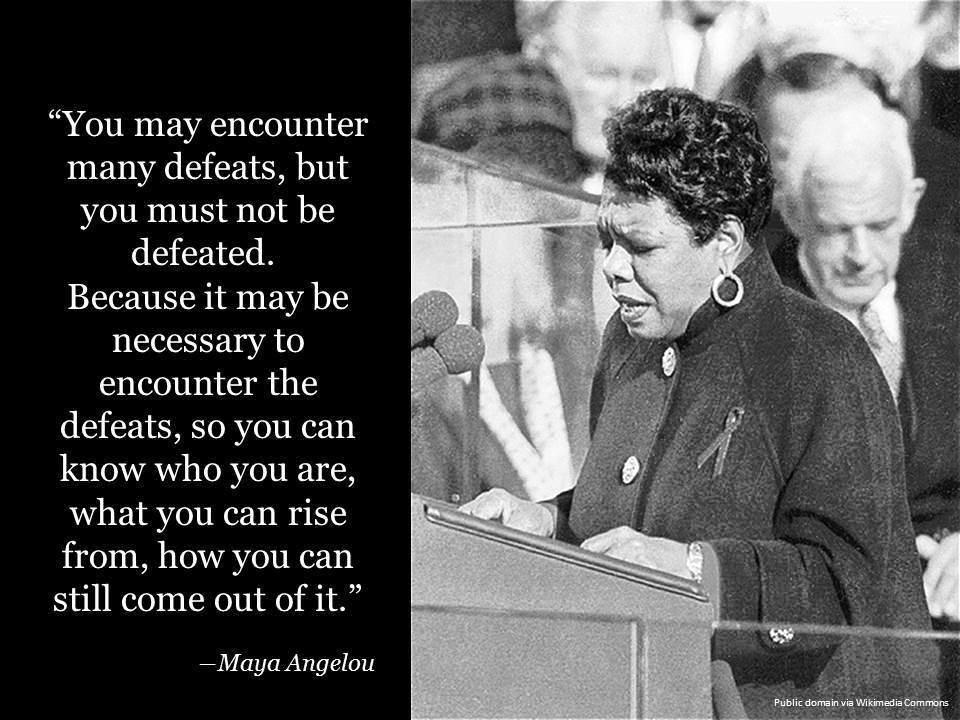 Citaat Maya Angelou