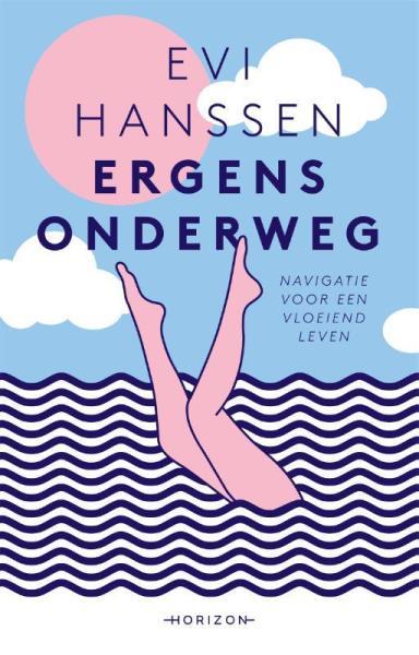 Evi Hanssen omslag boek Ergens Onderweg