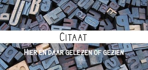citaat header letters
