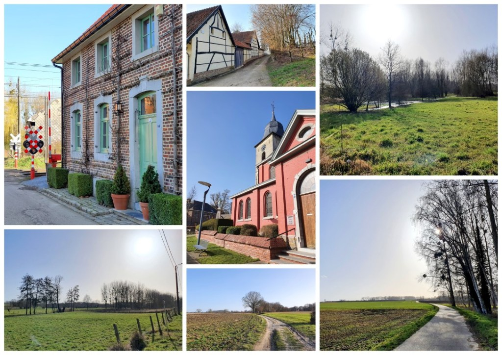 collage Demervalleiwandeling in Hoeselt
