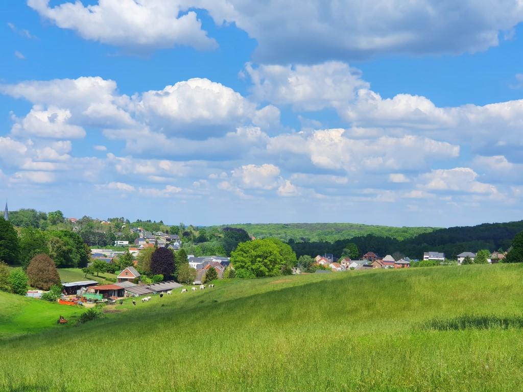 zicht op Huldenberg