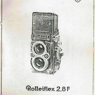 rolleiflex 2.8 reparatie handleiding