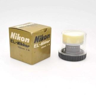 Nikon El-Nikkor 4.0/75mm