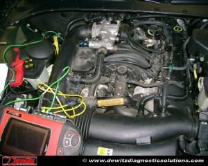 Misfire | 2000 Lincoln LS | COP Coil Testing | Dewitz Diagnostic Solutions | Automotive Training