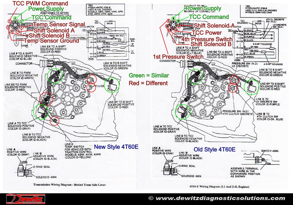 700r4 plug wiring diagram 2006 chevy silverado 1500 stereo burnt ignition switch causes trailblazer electrical issues
