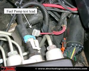 Oldmobile Bravada 43 Has No Fuel Pressure No Fuel Pump