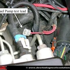 Ford Fuel Pump Relay Wiring Diagram Schult Mobile Home No Start 1997 Oldmobile Bravada 4 3 Dewitz