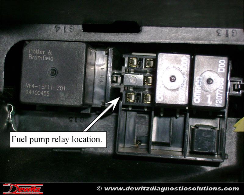 97 silverado fuel pump wire diagram
