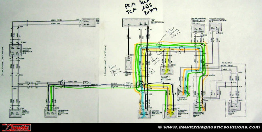 Wiring Diagram Below