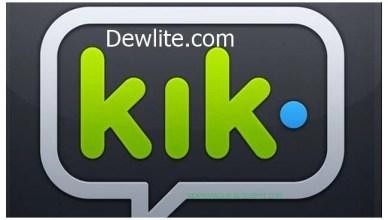 Deactivate Kik Account