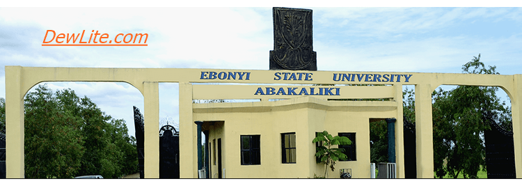 EBSU Admission Screening Date