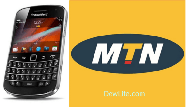 MTN BlackBerry Plans and Activation Codes In Nigeria