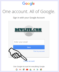 google-account-sign-up